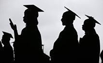 Выпускники учебного заведения. Архивное фото