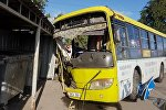 Бишкекте кырсыкка учураган автобустан бардыгы болуп 16 адам жабыркаса анын бешөө ооруканага жаткырылды