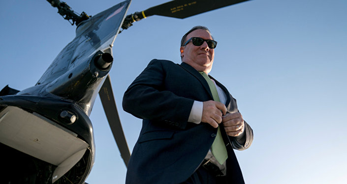 Визит государственного секретаря США Майк Помпео в Кабул