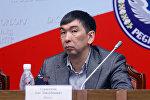 Экс-депутат Жогорку Кенеша V созыва, кандидат в мэры Бишкека Азиз Суракматов. Архивное фото