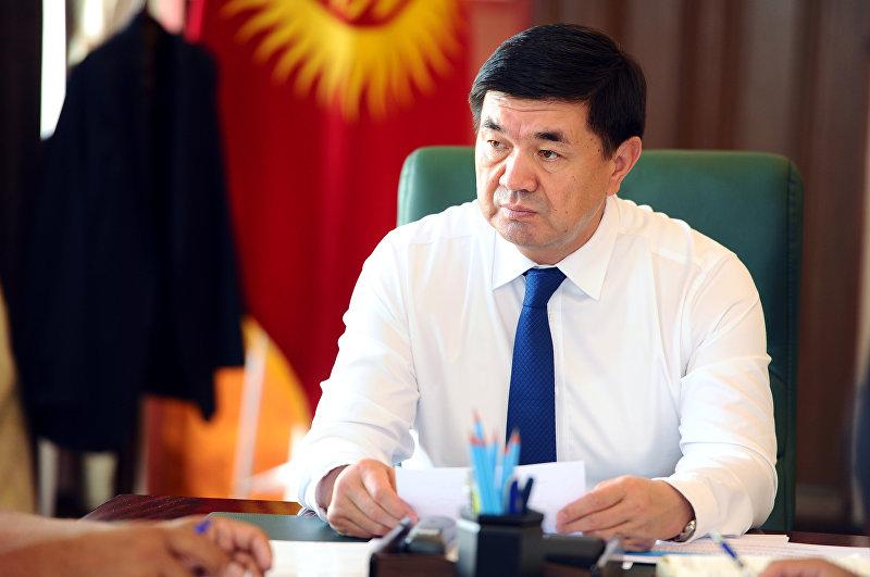 Премьер-министр КР Мухаммедкалый Абылгазиев провел совещание по вопросу реализации программы Ала-Тоо булагы в сфере сельского питьевого водоснабжения населенных пунктов страны