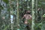 Амазонкадагы белгисиз уруунун акыркы жашоочусу видеого түшүп калды