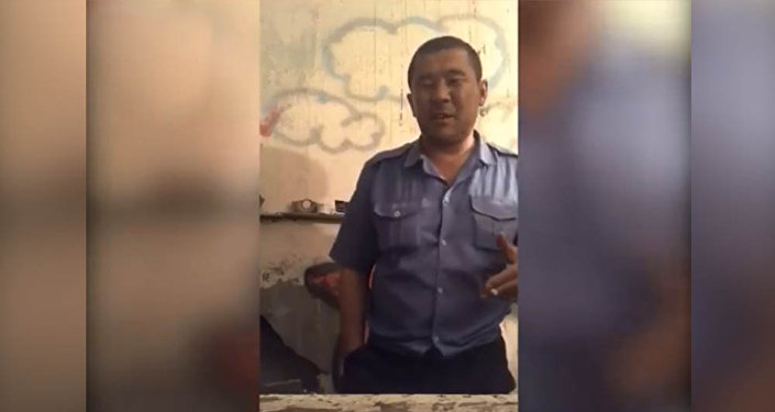 Мужчина в форме МВД Кыргызстана поразил своим рэпом соцсети. Видео