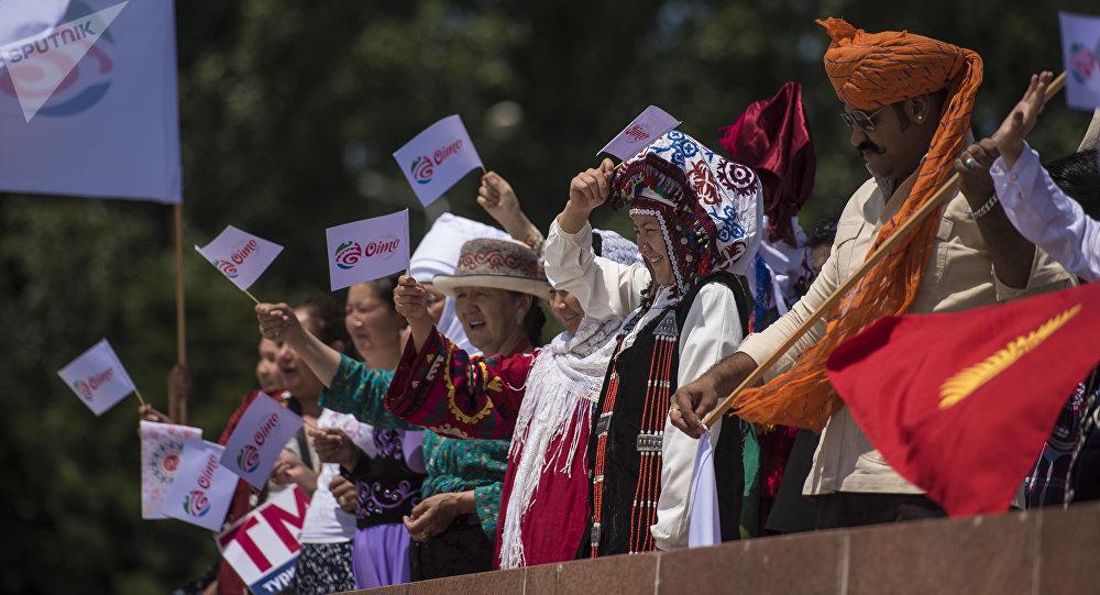 Международный фестиваль Оймо в Бишкеке. Архивное фото