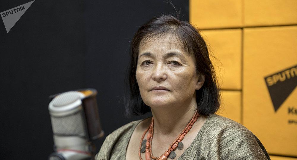 Директор фестиваля Оймо Динара Чочунбаева
