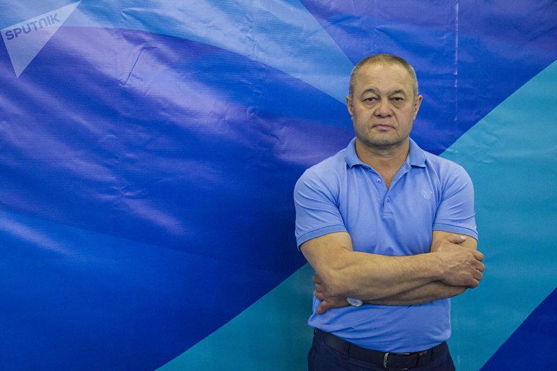 Президент Федерации кикбоксинга КР Александр Воинов