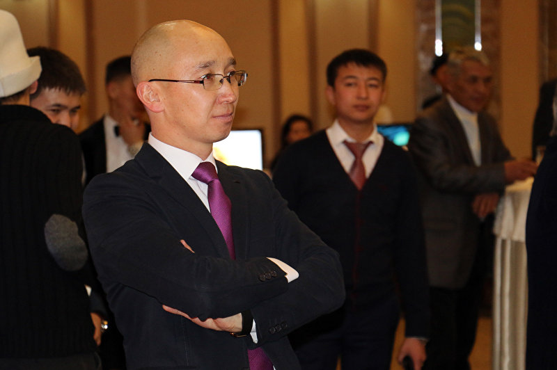 Заместитель министра культуры, информации и туризма, директор департамента туризма Максат Чакиев