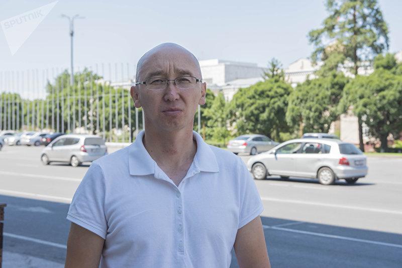 Экс-директор Департамента туризма при Минкультуры Максат Чакиев
