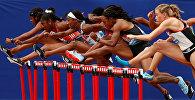 Лондондогу олимпиадалык стадиондо жеңил атлетчилердин жыл сайын болуучу Sainsbury's Anniversary Games оюндары өттү