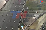 Как в GTA — водитель слетел с эстакады на скорости 170 км/ч и выжил. Видео