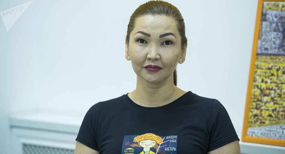 Арт-директор центра развития ARaShine и автор проекта Код кыргызов Жылдыз Мамытова