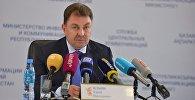 Заместитель министра внутренних дел комитета по ЧС Казахстана Юрий Ильин. Архивное фото