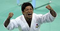 Олимпийский чемпион оп дзюдо Масато Утисиба. Архивное фото