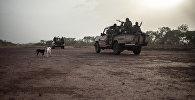 Военные в Центрально-Африканской Республике. Архивное фото