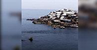 Калкы жыш болгон дүйнөдөгү эң кичинекей арал. Өзгөчө видео