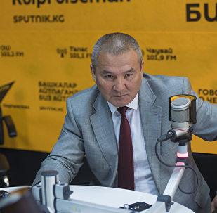 Министр транспорта и дорог Жамшитбек Калилов. Архивное фото