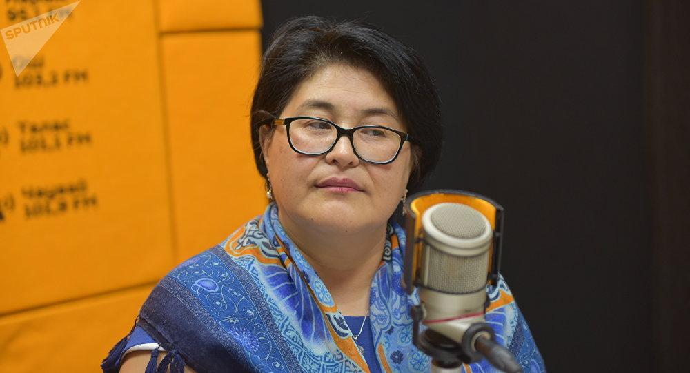 Специалист Гражданского альянса по улучшению питания и продовольственной безопасности Гульмира Кожобергенова