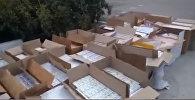 Как задерживали контрабандную партию сигарет на 1 миллион сомов. Видео