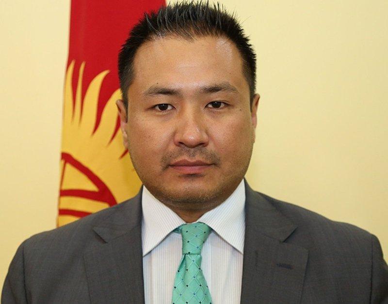 Посол Кыргызстана в Швейцарии, постоянный представитель при ООН и других международных организациях в Женеве Данияр Мукашев
