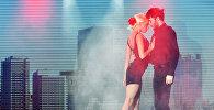 Пара танцует танго. Архивное фото