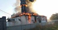 Жалал-Абаддагы Сузак районуна караштуу Орто Азия айылында жайгашкан мечиттеги өрт