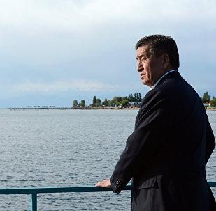 Отпуск президента КР Сооронбая Жээнбекова на Иссык-Куле