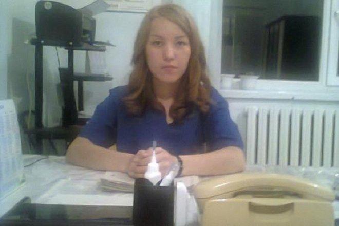 Врач-хирург Нарынского областного центра семейной медицины Эркингуль Койбакова