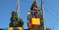 Балыкчы шаарында Коопсуз шаар долбоорунун алкагында жол эрежесин бузгандарды каттоо боюнча атайын сүрөт, видео системаларын орнотулду