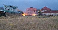 Пожар в микрорайоне Джал