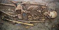 Казакстандык археолог Зейнолла Самашев Чыгыш Казакстан облусунан Алтын адам тапты