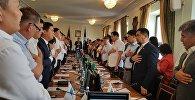 Депутаты Бишкекского городского кенеша. Архивное фото