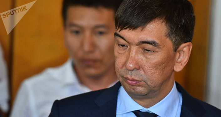 Избранный мэр Бишкека Азиз Суракматов