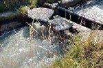 В селе Алга Чуйской области 53-летний мужчина упал в канал и был найден спасателями за километр от места происшествия