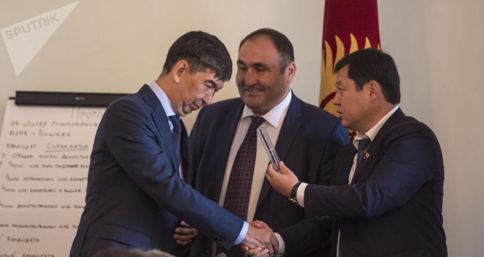 Выборы мэра Бишкека — 2018