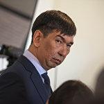 Реакция Суракматова на официальное объявление, что он избран мэром