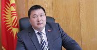 Президенттин Жогорку Кеңештеги мурдагы өкүлү Курманбек Дыйканбаев. Архив