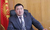 Бывший полномочный представитель президента в Жогорку Кенеше Курманбек Дыйканбаев. Архивное фото