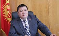 Полномочный представитель президента КР в Жогорку Кенеше Курманбек Дыйканбаев. Архивное фото