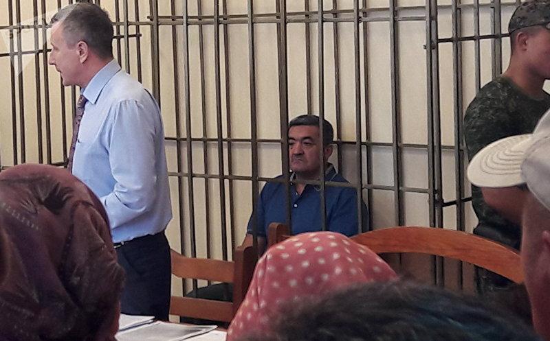 Экс-мер Бишкека Албек Ибраимов в Бишкекском городском суде