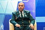 Начальник Главного управления патрульно-постовой службы и охраны общественного порядка МВД Узбекистана Дильшод Акрамов