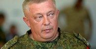 Главный судья Танкового биатлона — 2018 генерал-майор Роман Бинюков. Архивное фото