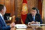 Президент Сооронбай Жээнбеков принял Толкунбека Абдыгулова