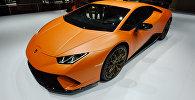 Автомобиль Lamborghini Huracán. Архивное фото