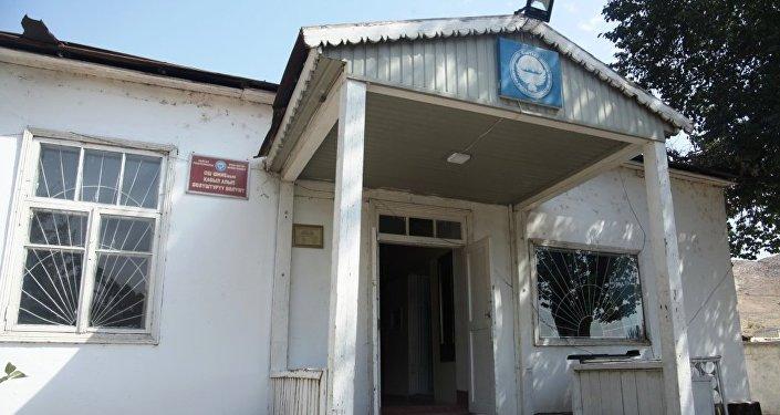 Состояние административного здания приемника-распределителя УВД Оша