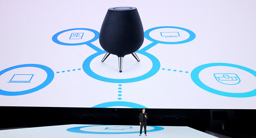 Презентация Samsung умных колонок Galaxy Home