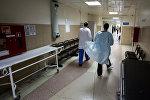 Работники больницы. Архивное фото