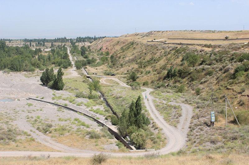 Местность в Ысык-Атинском районе, где пропала двухлетняя девочка