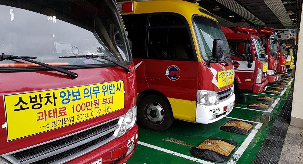 Предоставление пожарных автомобилей и карет скорой помощи Кыргызстану