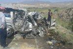Нарын облусундагы Он-Арча айылына жакын жерде Mercedes-Benz G үлгүсүндөгү унаа (Gelandewagen) КамАЗдын алдына кирип кетип эки адам каза болгон