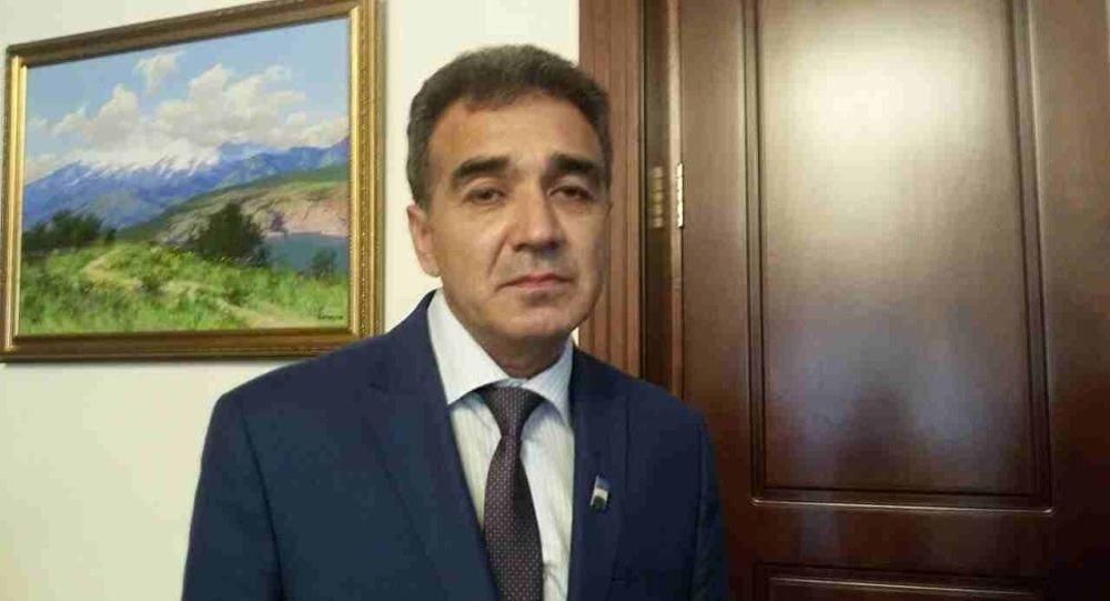 Депутат Алмазарского района Ташкента Бахтиёр Сагатов. Архивное фото